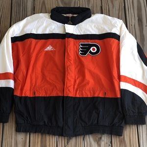VTG 1990's APEX ONE PHILADELPHIA FLYERS NHL JACKET